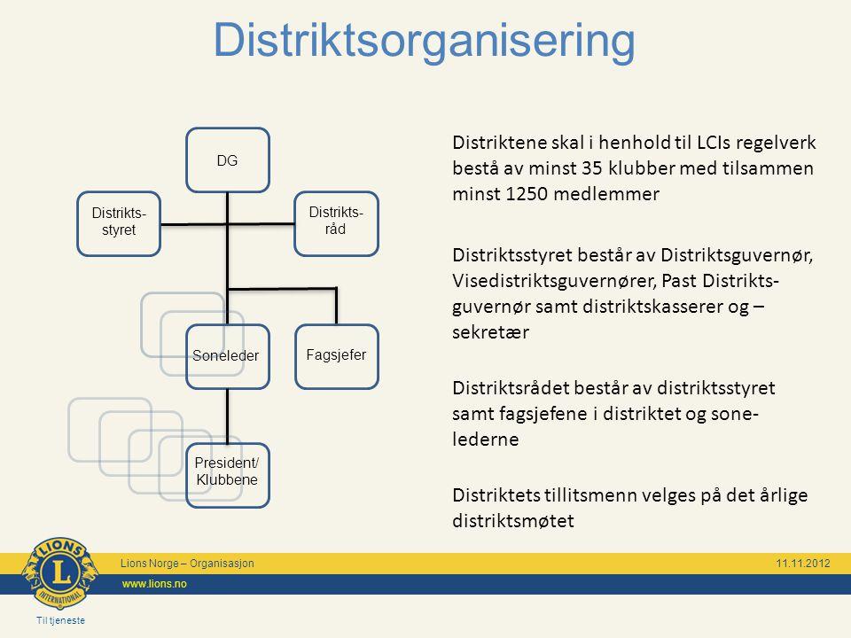 Distriktsorganisering