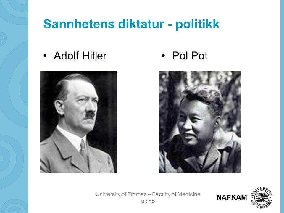 Sannhetens diktatur - politikk