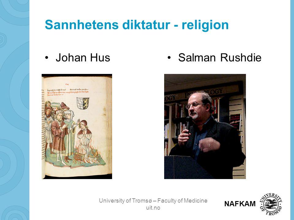 Sannhetens diktatur - religion