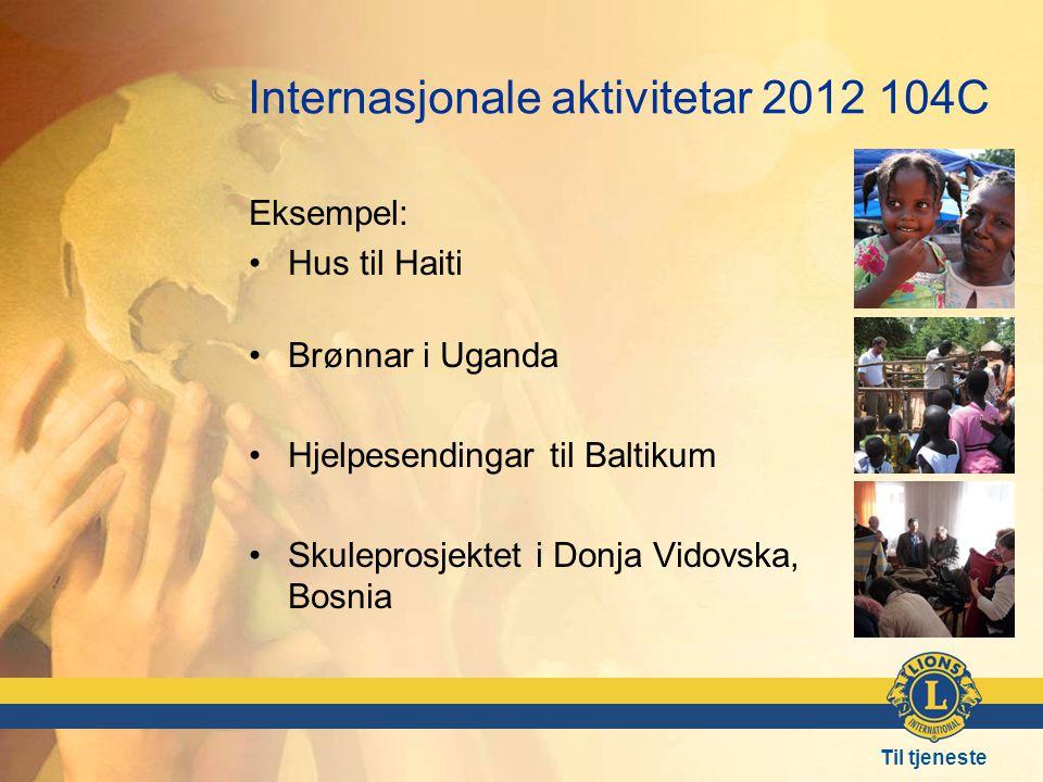 Internasjonale aktivitetar 2012 104C