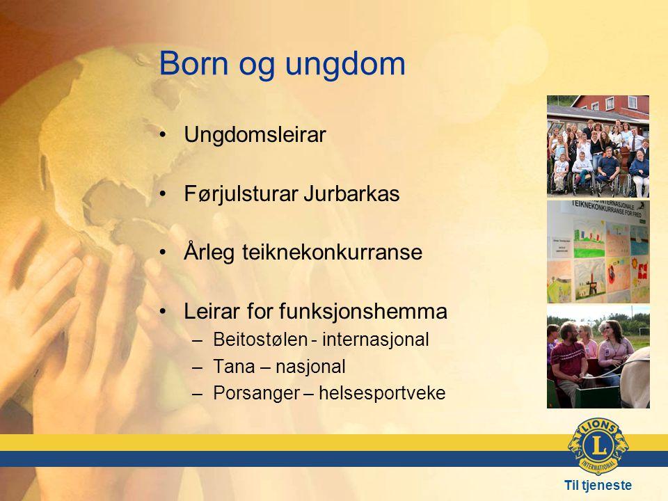 Born og ungdom Ungdomsleirar Førjulsturar Jurbarkas