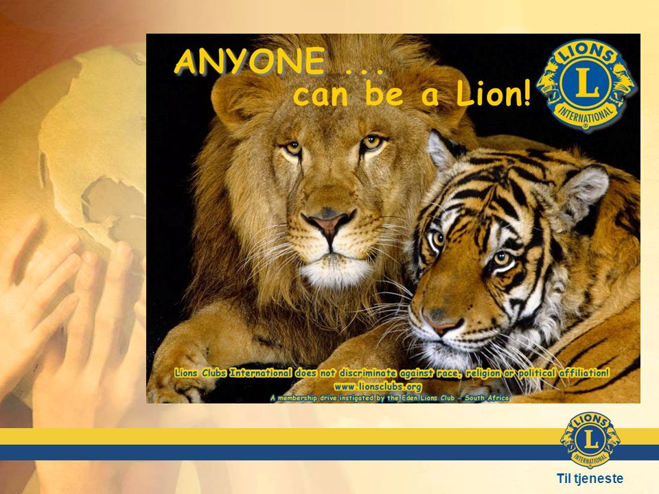 LIONS ER FOR ALLE!