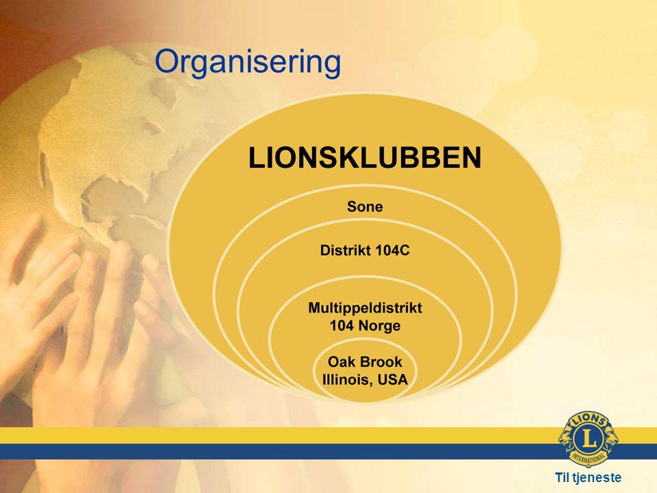 Organisering Den lokale Lionsklubb: Sjølvstyrt etter Lions lover