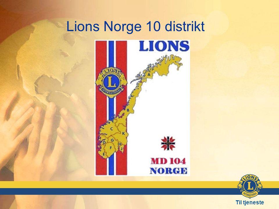 Lions Norge 10 distrikt