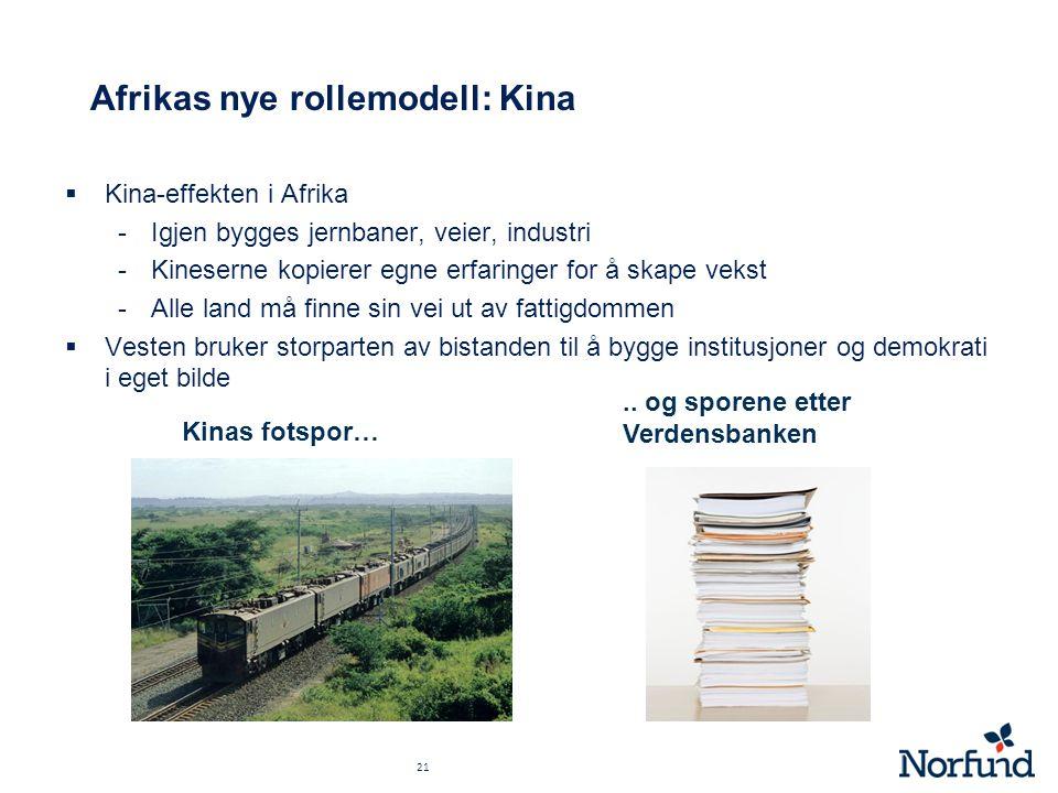 Afrikas nye rollemodell: Kina