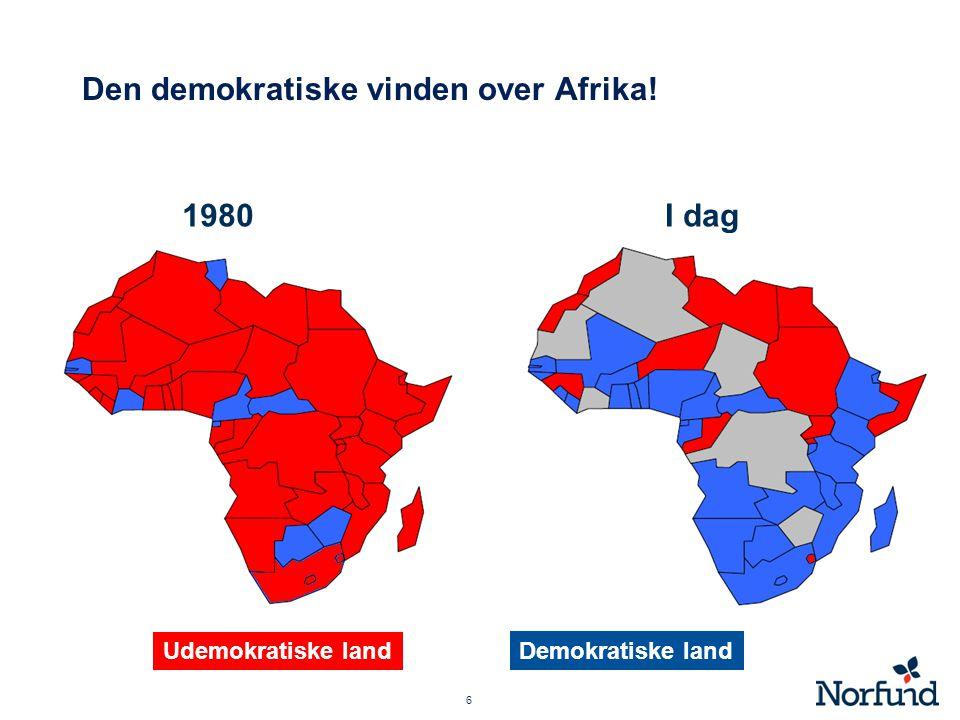 Den demokratiske vinden over Afrika!