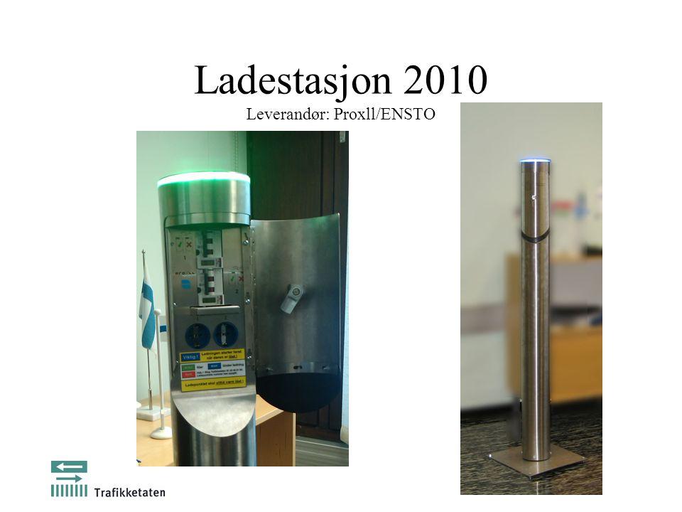 Ladestasjon 2010 Leverandør: Proxll/ENSTO