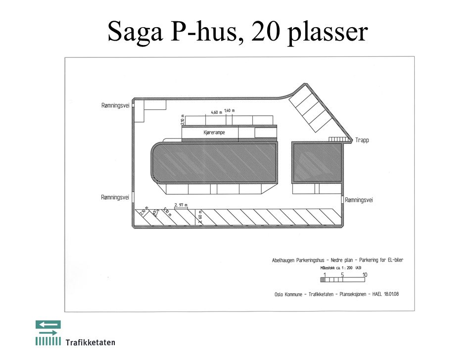 Saga P-hus, 20 plasser