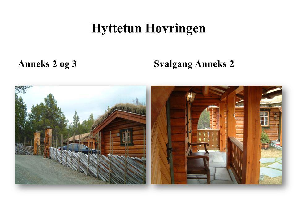 Hyttetun Høvringen Anneks 2 og 3 Svalgang Anneks 2