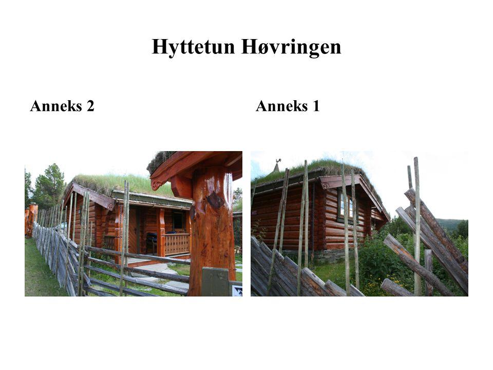 Hyttetun Høvringen Anneks 2 Anneks 1