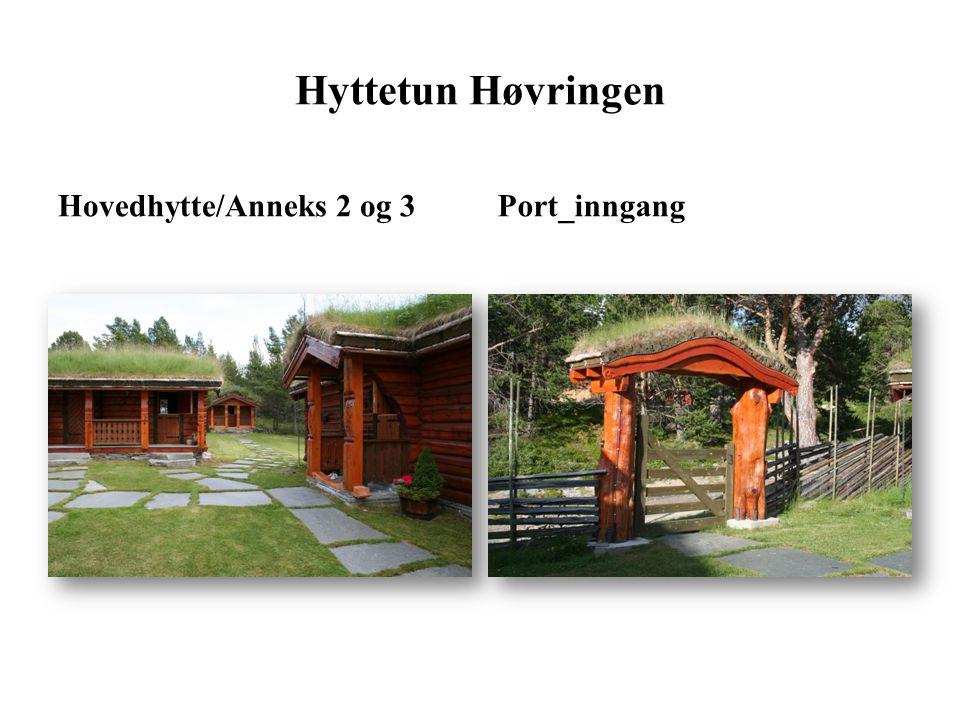 Hyttetun Høvringen Hovedhytte/Anneks 2 og 3 Port_inngang