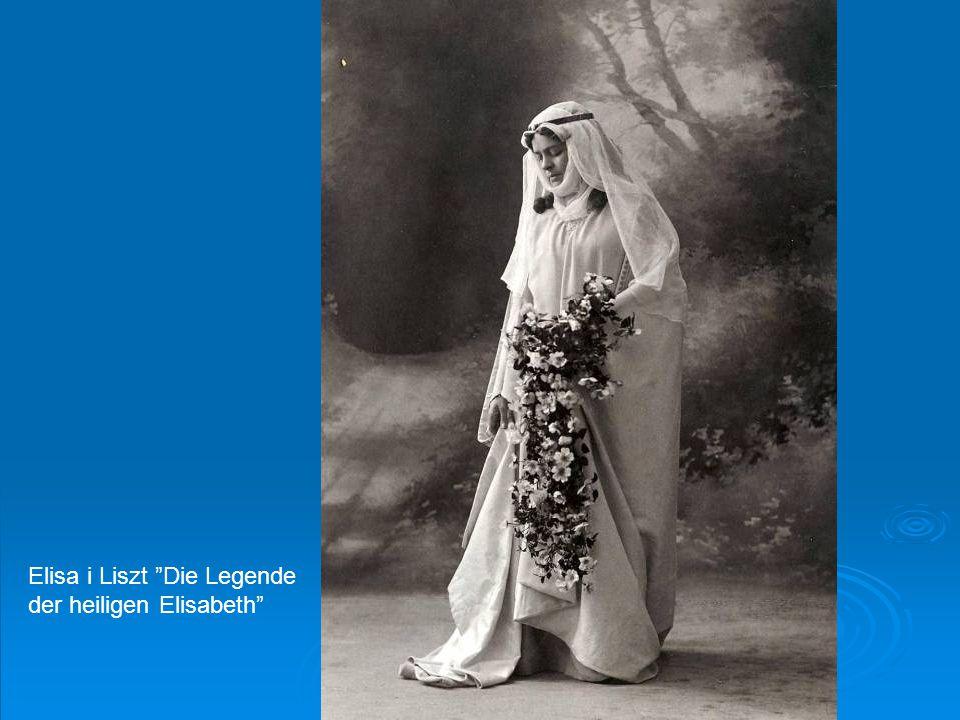 Elisa i Liszt Die Legende der heiligen Elisabeth