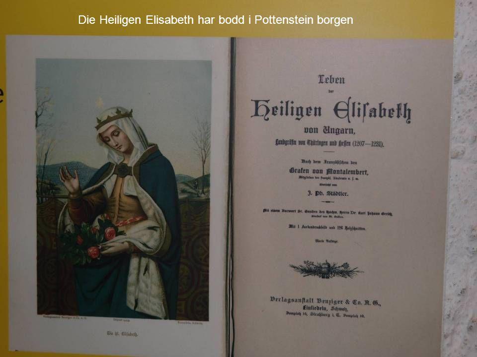 Die Heiligen Elisabeth har bodd i Pottenstein borgen