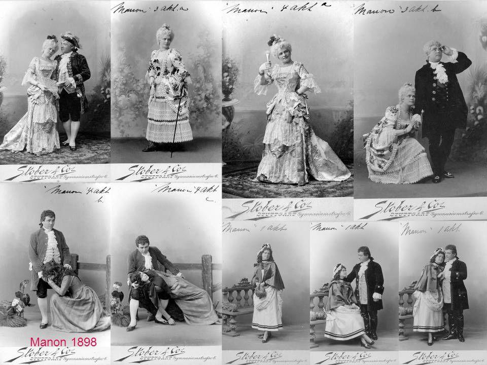 Manon av Massenet, Manon Lescaut er av Puccini