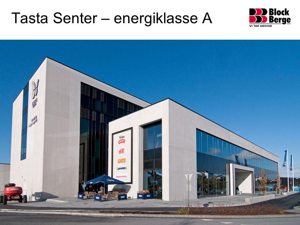 Tasta Senter – energiklasse A