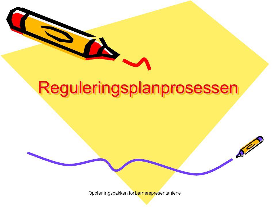 Reguleringsplanprosessen
