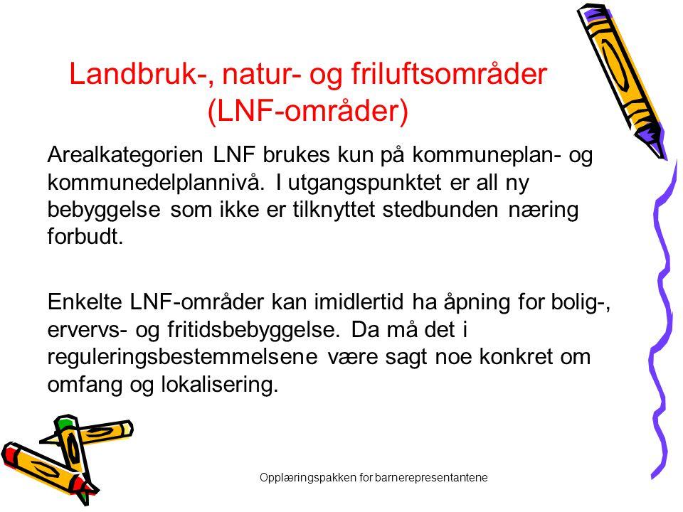 Landbruk-, natur- og friluftsområder (LNF-områder)