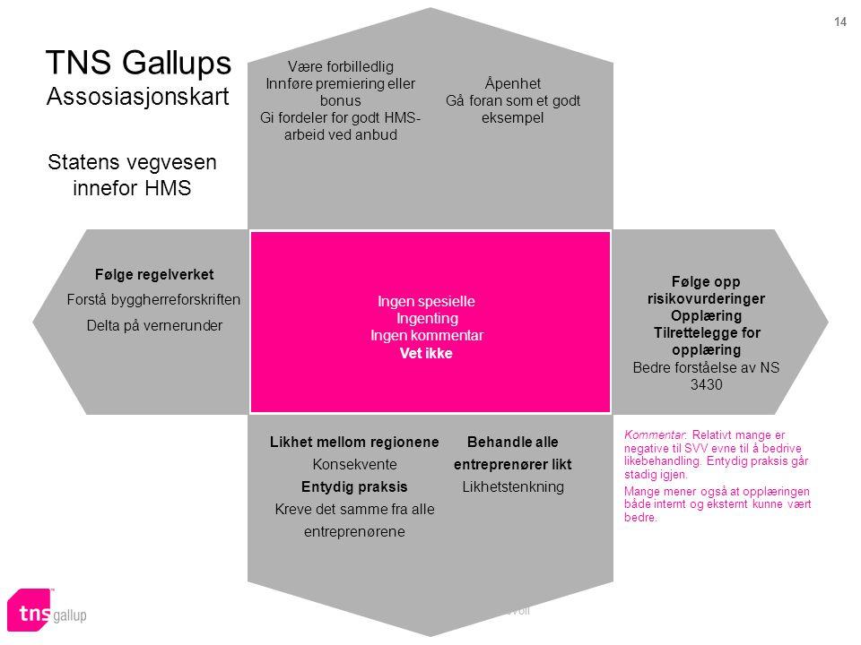 TNS Gallups Assosiasjonskart
