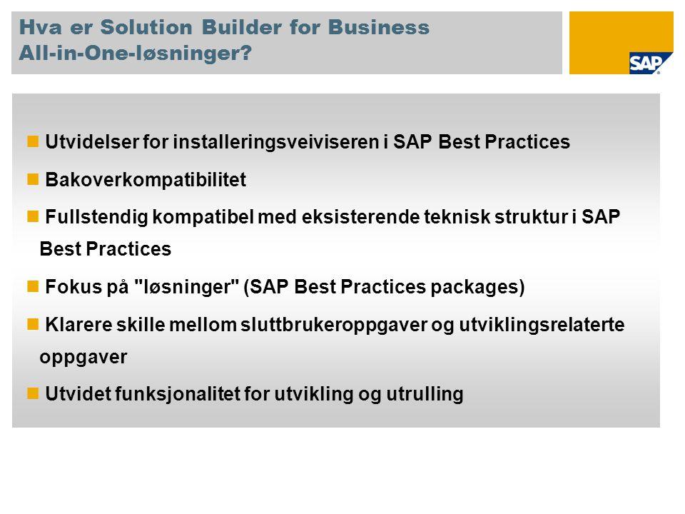 Hva er Solution Builder for Business All-in-One-løsninger
