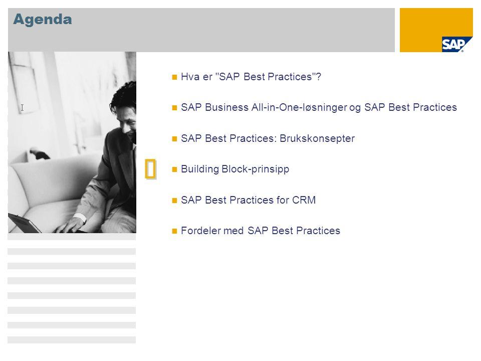 è Agenda Hva er SAP Best Practices