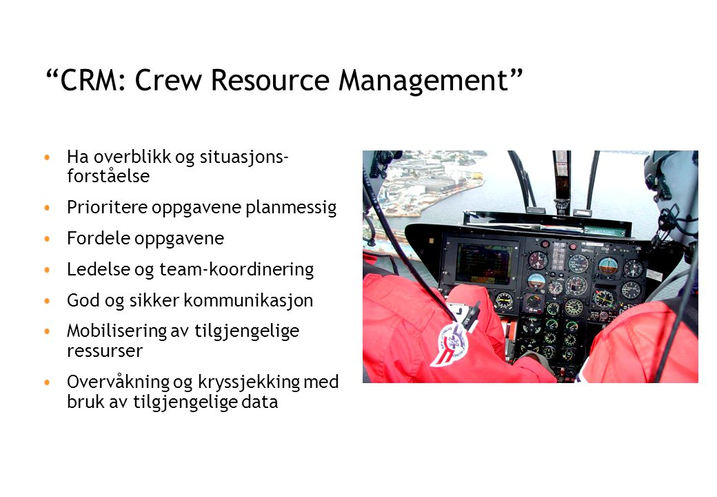 CRM: Crew Resource Management