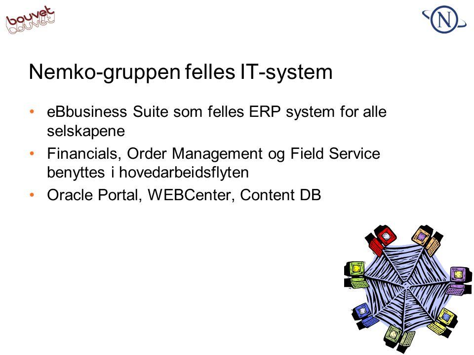 Nemko-gruppen felles IT-system