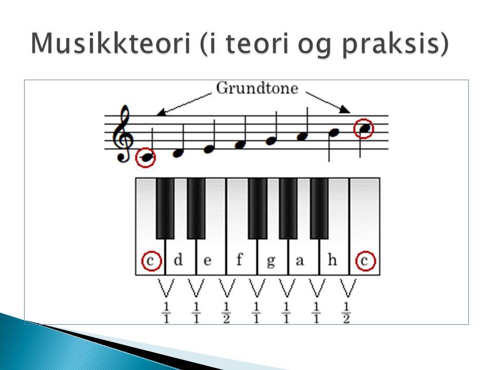 Musikkteori (i teori og praksis)