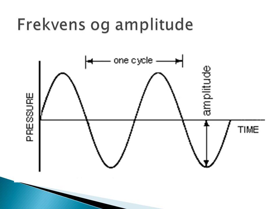 Frekvens og amplitude