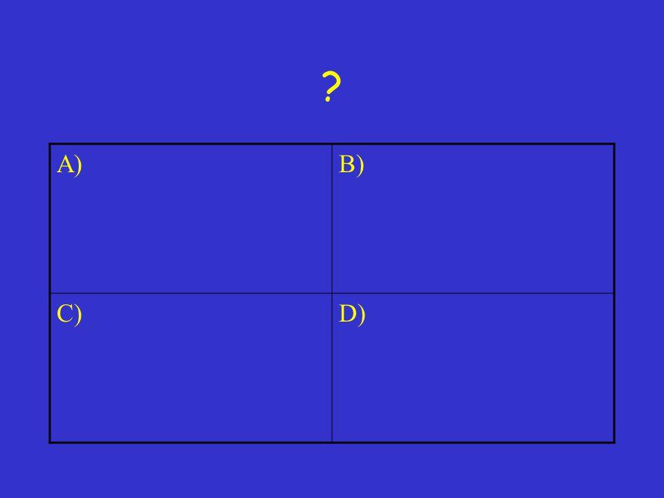 A) B) C) D)