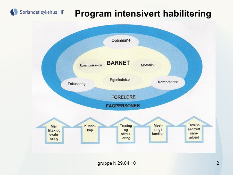 Program intensivert habilitering