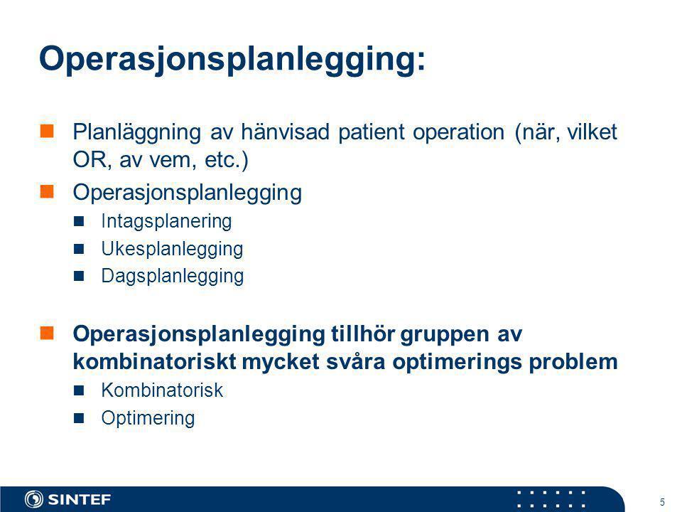 Operasjonsplanlegging: