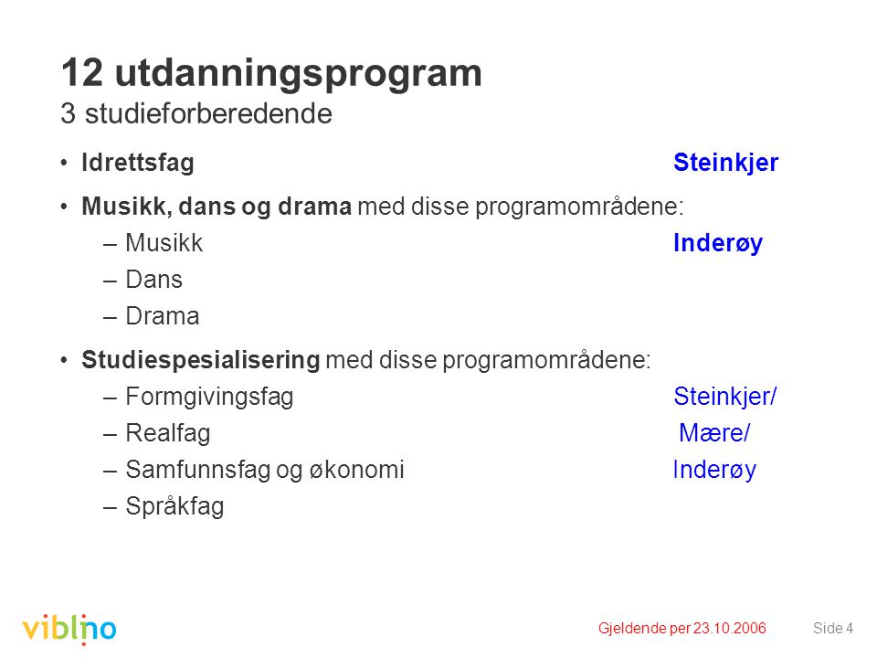 12 utdanningsprogram 3 studieforberedende