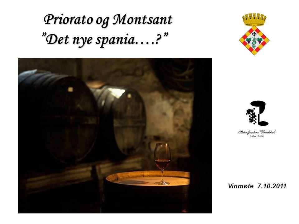 Priorato og Montsant Det nye spania….