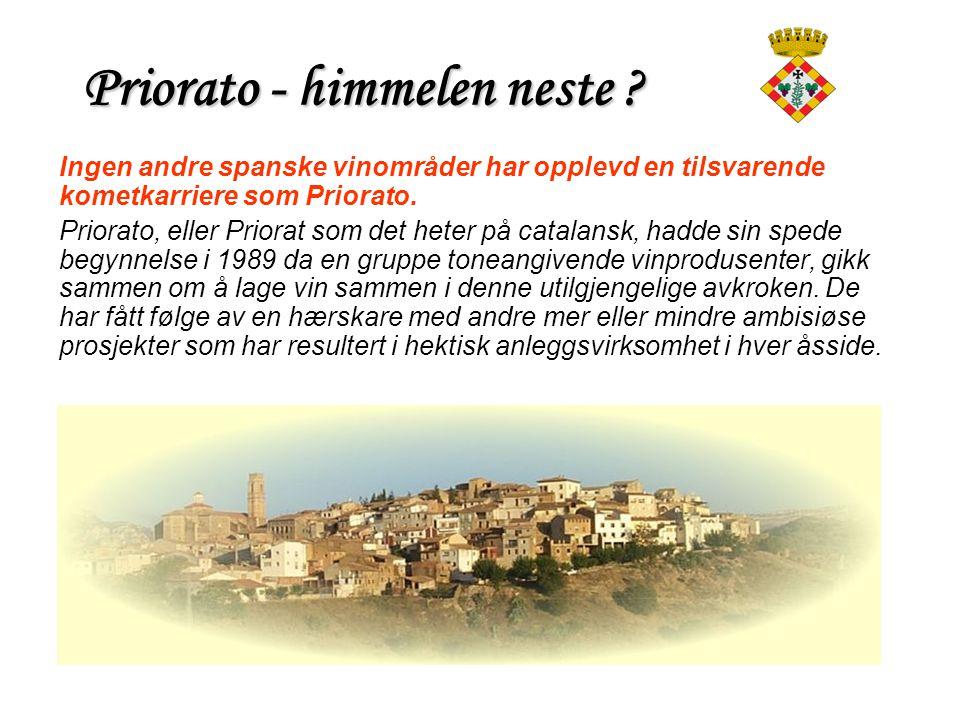 Priorato - himmelen neste