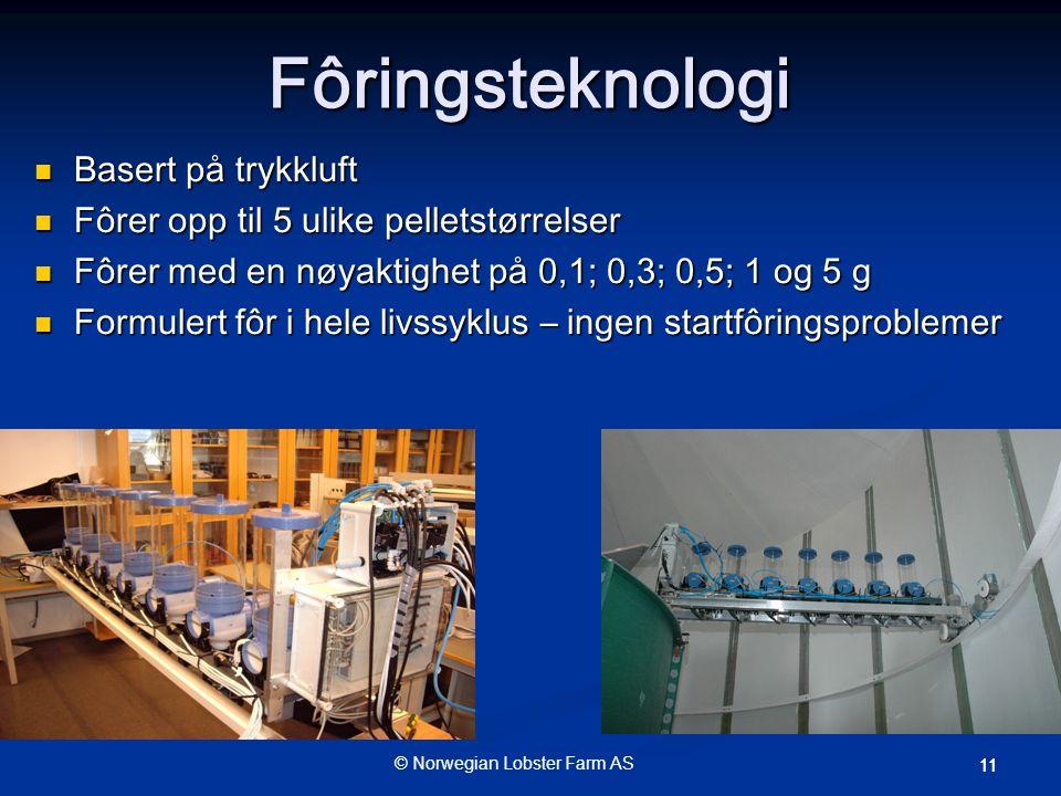 Fôringsteknologi Basert på trykkluft