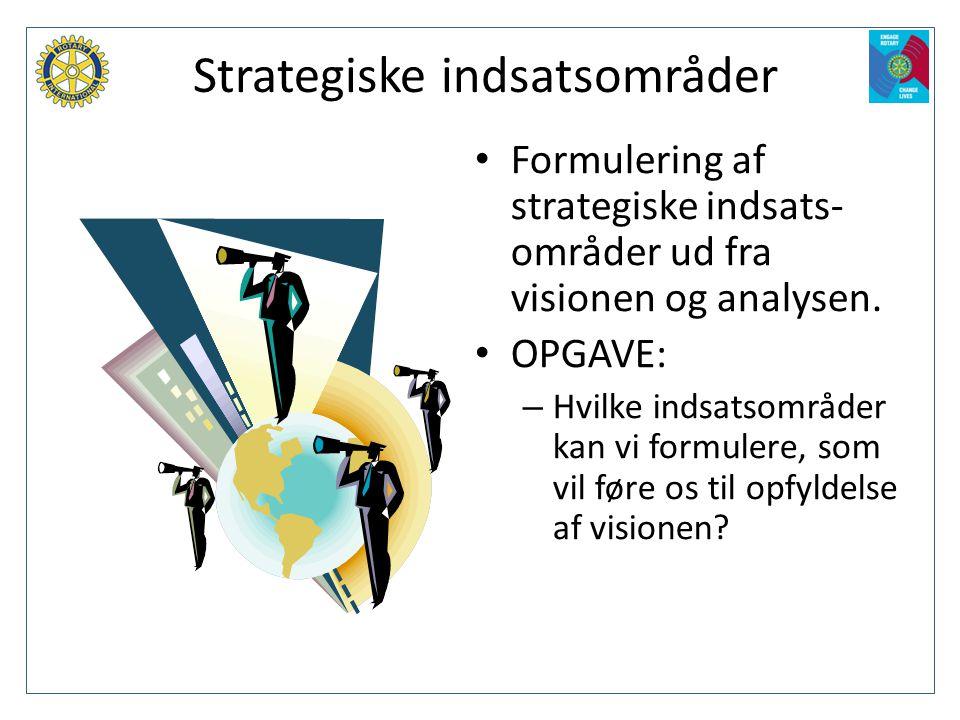 Strategiske indsatsområder