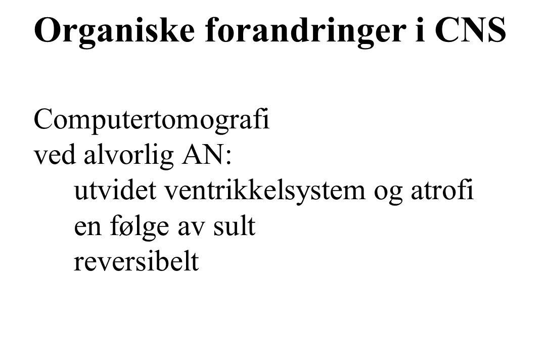 Organiske forandringer i CNS