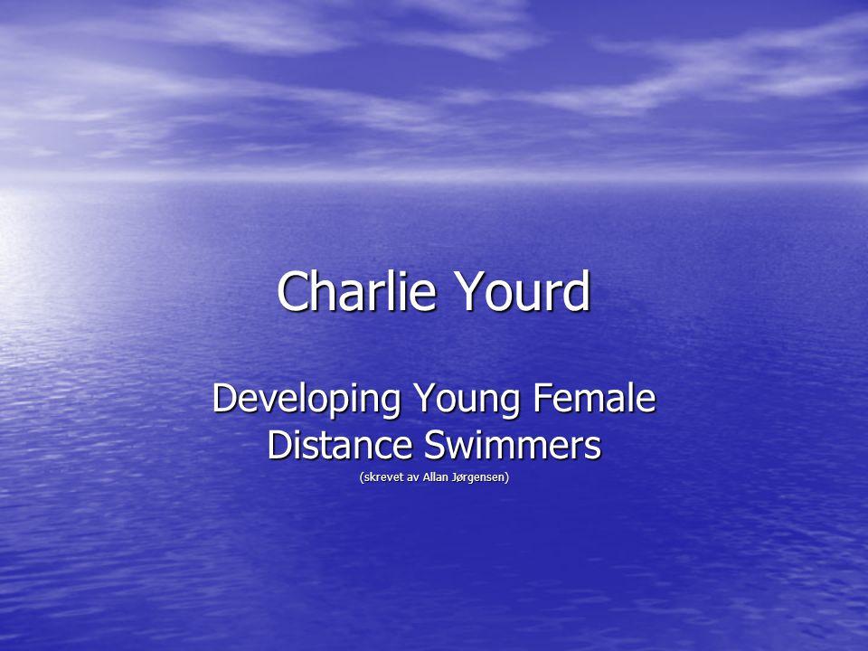 Developing Young Female Distance Swimmers (skrevet av Allan Jørgensen)