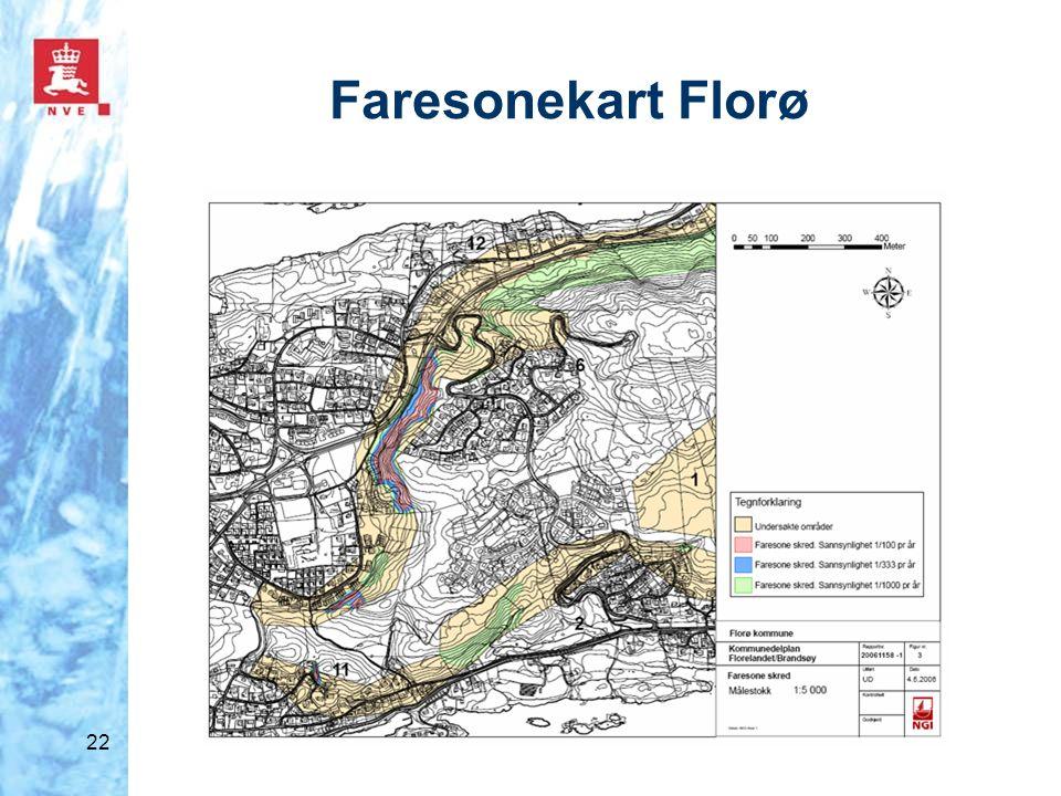 Faresonekart Florø