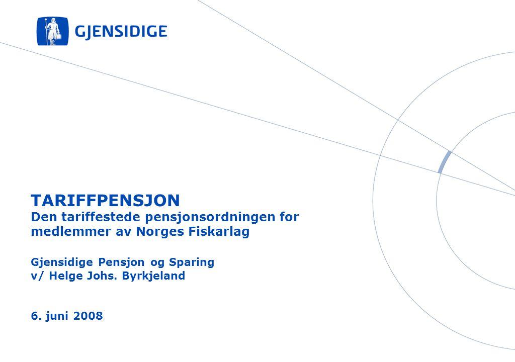 Gjensidige Pensjon og Sparing v/ Helge Johs. Byrkjeland 6. juni 2008