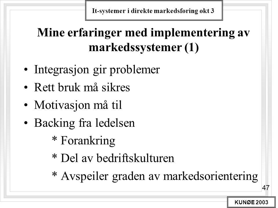 Mine erfaringer med implementering av markedssystemer (1)