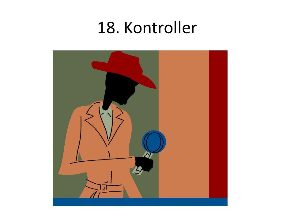 18. Kontroller