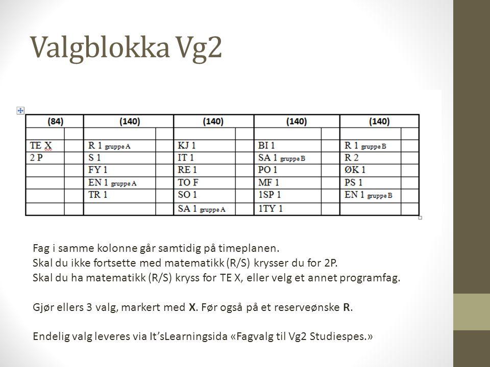 Valgblokka Vg2
