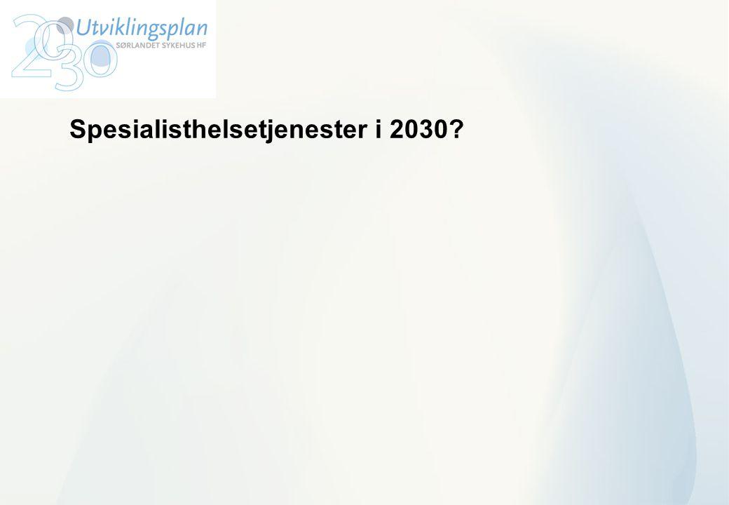 Spesialisthelsetjenester i 2030