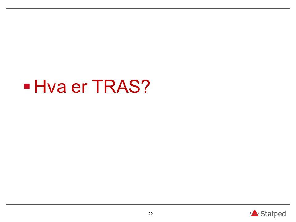 Hva er TRAS