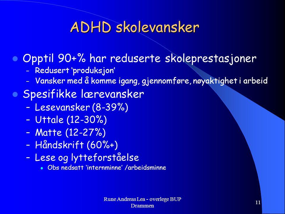 Rune Andreas Lea - overlege BUP Drammen