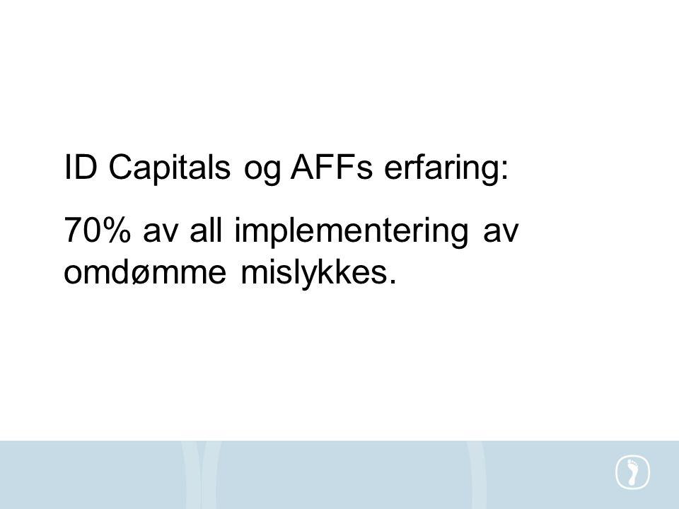 ID Capitals og AFFs erfaring:
