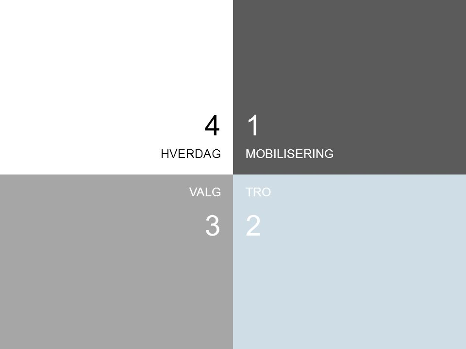 4 1 HVERDAG MOBILISERING VALG TRO 3 2