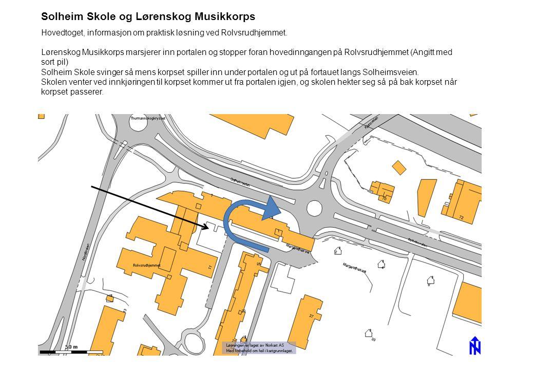 Solheim Skole og Lørenskog Musikkorps