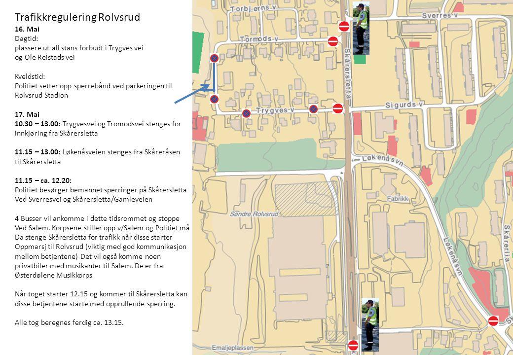 Trafikkregulering Rolvsrud